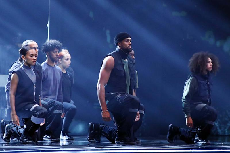 Diversity's powerful routine sparked controversy from some viewers (Dymond/Thames/Syco/REX)