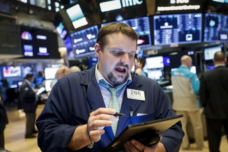 Wall Street powers stocks higher on $2 trillion stimulus; dollar takes a hit