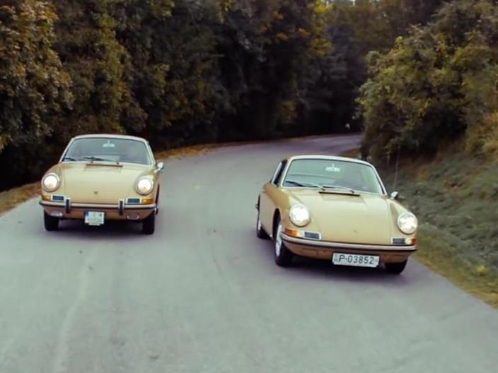 1967 Porsche 911S Twins Separated And Reunited