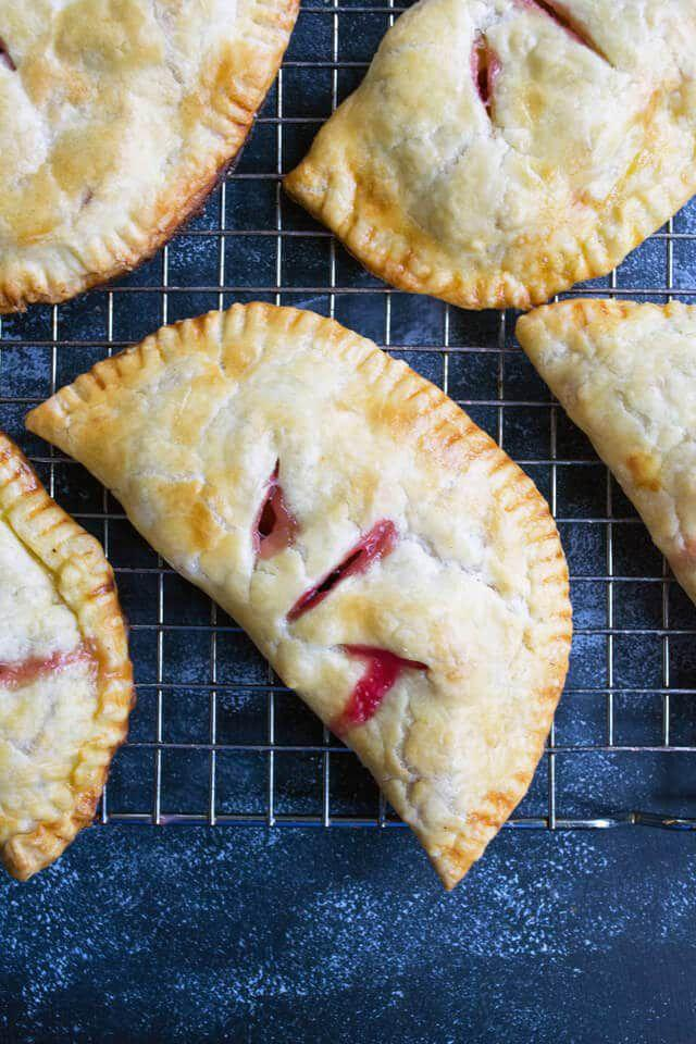 """<p>It's pie you can take on the go!</p><p>Get the recipe from <a rel=""""nofollow"""" href=""""https://www.tastesoflizzyt.com/plum-turnovers/"""">Tastes of Lizzy T</a>.</p>"""