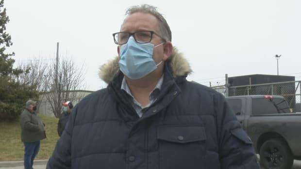 Dave Cassidy, president of Unifor Local 444, appears in a file photo. (Dale Molnar/CBC - image credit)