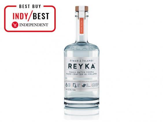 Reyka Vodka is in small batches and distilled using geothermal energy