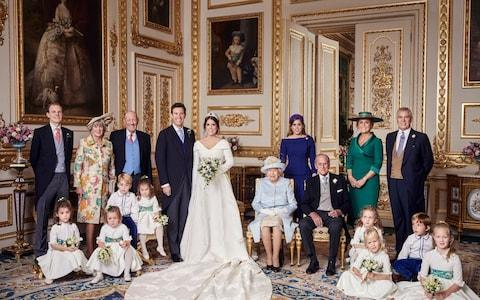 <span>The first official photographs from Friday's wedding have emerged</span> <span>Credit: PA </span>