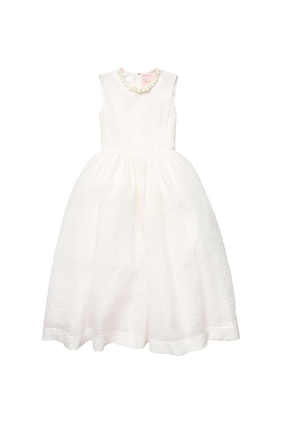 <p><span>Simone Rocha x H&amp;M Silk-Blend Cloqué Dress</span> ($299).</p>