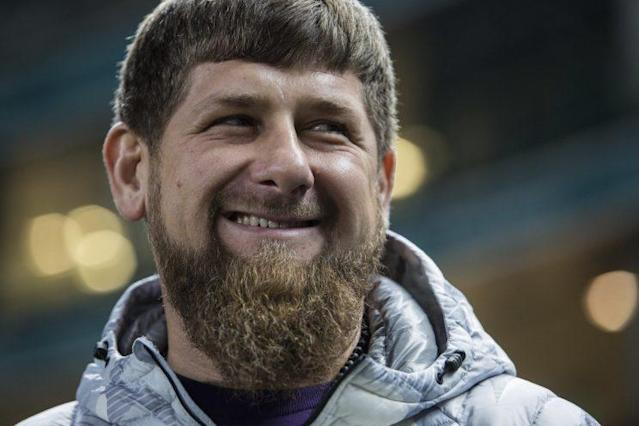 Ramzan Kadyrov is the subject of a chilling profile on Chechen President Ramzan Kadyrov, which debuts Tuesday at 10 p.m. ET on HBO. (The Associated Press)