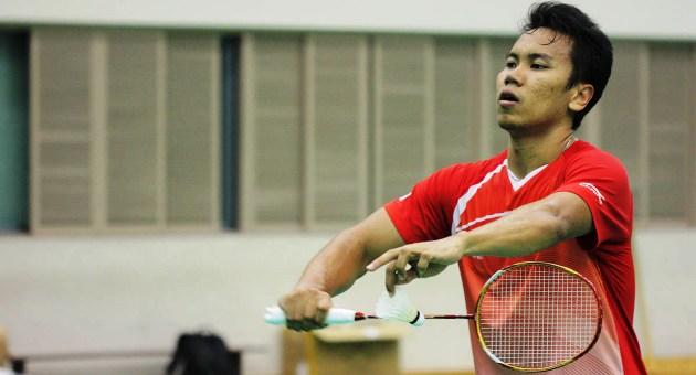 Danny Bawa Chrisnanta only recently secured Singaporean citizenship and will make his SEA Games debut partnering Neo. (Yahoo Photo)