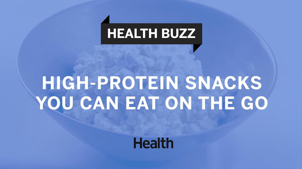 The key to a satisfying snack? Protein. With these portable, protein-packed snacks, you'll never have an excuse to head out with a candy bar or bag of chips again. Watch the video to learn more.