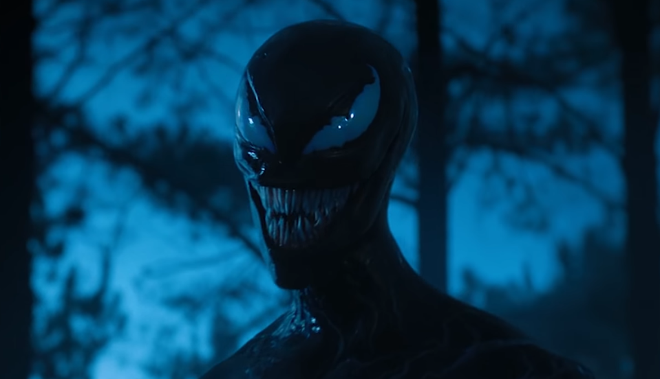 Williams briefly got to portray She-Venom in 'Venom' (Photo: Sony Pictures/YouTube)