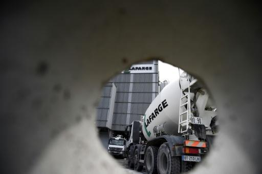 LafargeHolcim says Syrian plant gave money to armed groups