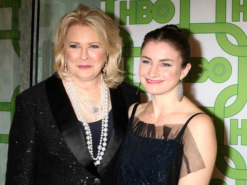 Candice Bergen to become first-time grandmother