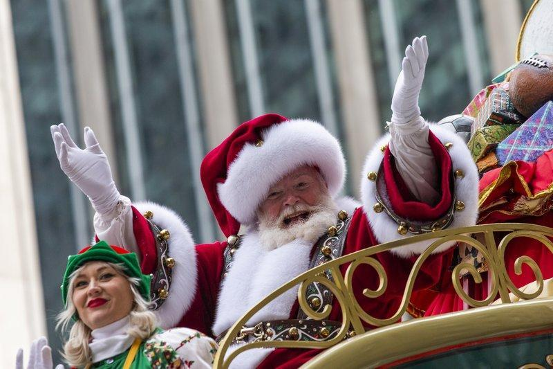 Those who perform as Mrs Claus and the elves would also have been eligible (AP Photo/Eduardo Munoz Alvarez, File)