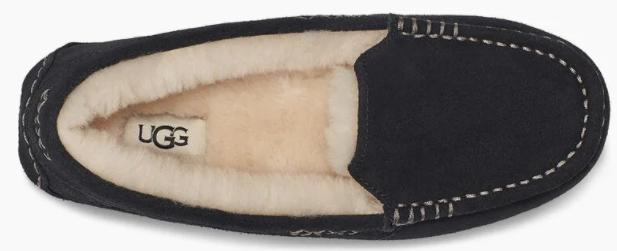 The plush, cozy lining is made from genuine shearling. (Image via Ugg)