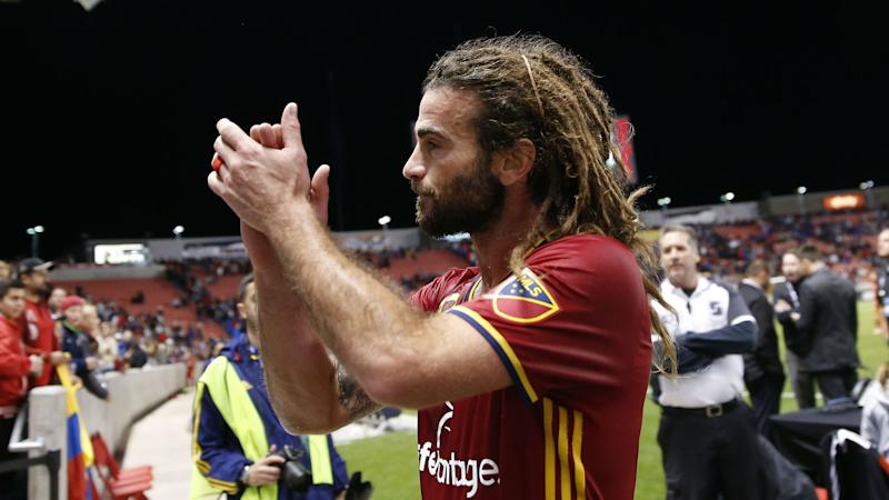 Kyle Beckerman Real Salt Lake MLS 092416