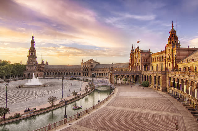 <p>You can't speak of Seville without mentioning its flamenco culture — it's everywhere. There are also Gothic plazas, roads swathed in orange trees, and its once congested streets (the streets are very narrow) have slowly been restructured over the past 10 years, according to Lonely Planet's report. In 2018, the capital of Andalucía is slated to host the 31st European Film Awards and Seville is currently celebrating its 400th anniversary of Baroque painter, Bartolomé Esteban Murillo.<br>[Photo: Flickr/Francisco Colinet] </p>
