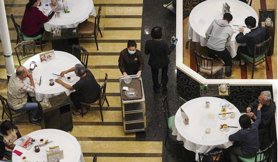 Restaurant operations depend on the number of staff vaccinated. Photo: Sam Tsang