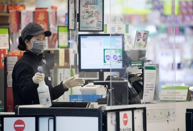 According to provincial records 57 per cent of Regina's outbreaks and 77 per cent of Saskatoon's over the last two weeks were in workplaces. (Jonathan Hayward/The Canadian Press - image credit)