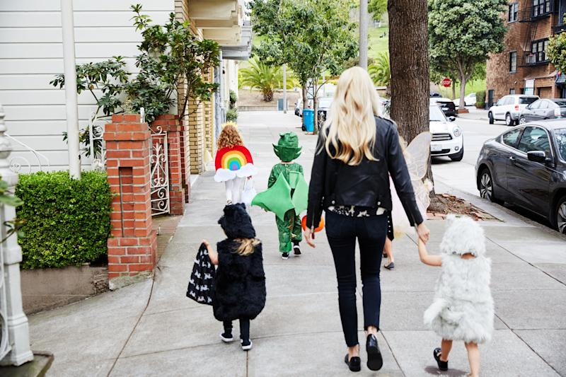 Photographer: Arturo TorresProduct Credits: Pottery Barn Kids Costumes