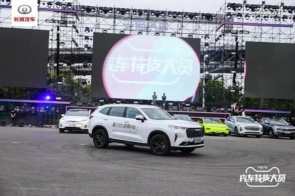 Great Wall Motors' Haval H6 SUV will be launched in Thailand later this month. Photo: Weibo
