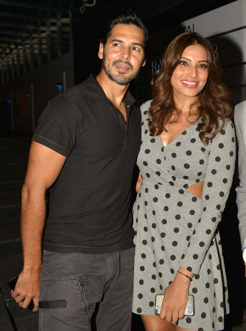 MUMBAI,INDIA JUNE 01 : Bipasha Basu and Dino Morea at R.Madhavans birthday party in Mumbai.(Photo by Milind Shelte/The India Today Group via Getty Images)