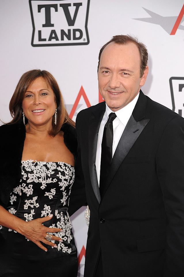 "<a href=""http://movies.yahoo.com/movie/contributor/1809155617"">Joanne Horowitz</a> and <a href=""http://movies.yahoo.com/movie/contributor/1800018626"">Kevin Spacey</a> attend the 38th Annual Lifetime Achievement Award Honoring Mike Nichols at Sony Pictures Studios on June 10, 2010 in Culver City, California."
