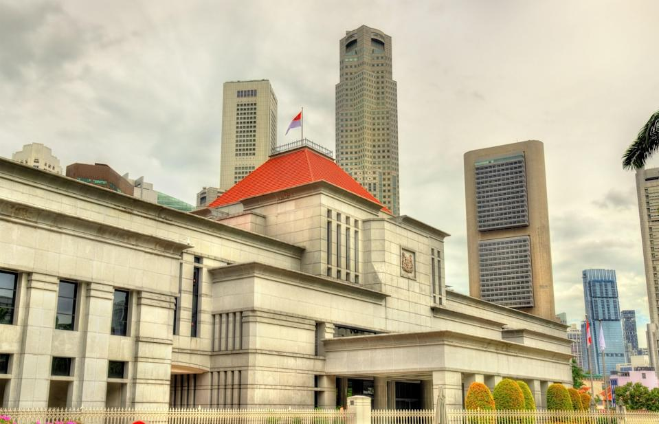 View of the Parliament House in Singapore. (Photo: Getty Images)