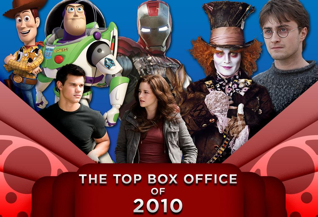 In 2010, talking toys, mad hatters and super-armored comic book heroes dominated the box office, with moviegoers ringing up over $10 billion in ticket sales. Here are the top ten highest grossing films at the domestic box office this year.