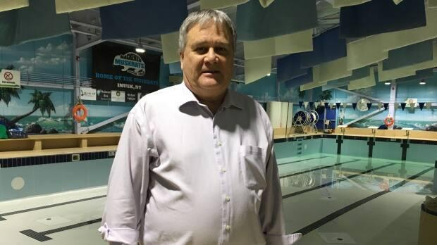 Grant Hood is the senior administrative officer for the town of Inuvik. 'I just want to apologize that it's taking us this long,' he says. 'We are doing our best to get it back up and running.' (Mackenzie Scott/CBC - image credit)