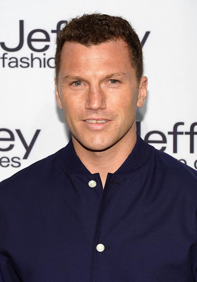 NEW YORK, NY - APRIL 02:  Sean Avery attends the Jeffrey Fashion Cares 10th Anniversary Celebration at The Intrepid on April 2, 2013 in New York City.  (Photo by Andrew H. Walker/Getty Images)