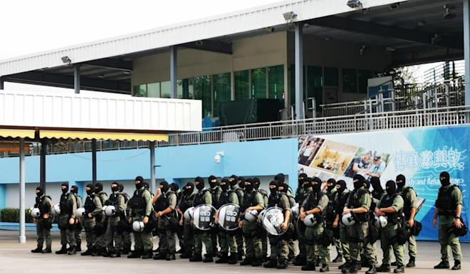 Some 70 members of the elite prison unit have volunteered to work with police. Photo: Handout