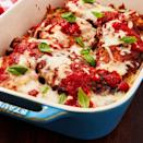 """<p>No one can deny a good <a href=""""https://www.delish.com/uk/cooking/recipes/a29029898/easy-chicken-parmesan-recipe/"""" rel=""""nofollow noopener"""" target=""""_blank"""" data-ylk=""""slk:chicken parm"""" class=""""link rapid-noclick-resp"""">chicken parm</a>. This version, coated with almond flour and LOTS of parmesan, is both keto-friendly and completely irresistible. We're hooked. </p><p>Get the <a href=""""https://www.delish.com/uk/cooking/recipes/a32593772/keto-chicken-parmesan-recipe/"""" rel=""""nofollow noopener"""" target=""""_blank"""" data-ylk=""""slk:Keto Chicken Parmesan"""" class=""""link rapid-noclick-resp"""">Keto Chicken Parmesan</a> recipe.</p>"""
