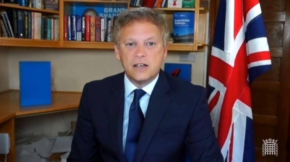 Grant Shapps (House of Commons/PA) (PA Wire)