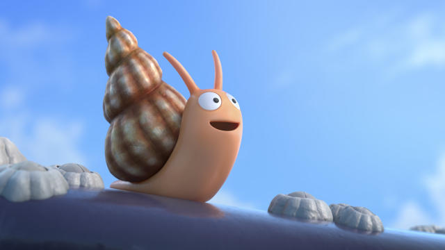 Sally Hawkins will provide the voice of the Snail in 'The Snail and the Whale'. (Magic Light/BBC)