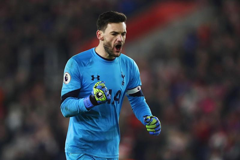 Leading man: Tottenham goalkeeper Hugo Lloris: Getty Images