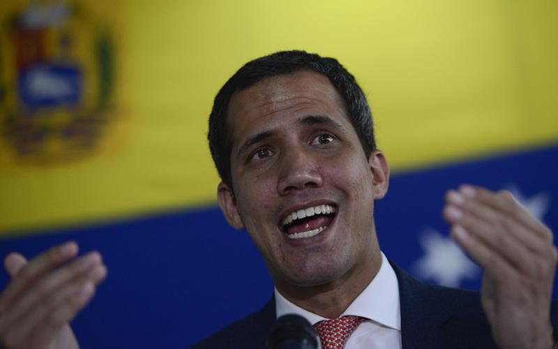 Guaido said his representatives in Colombia are cooperating with the authorities - Getty Images South America