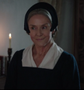 <p>Amanda plays Lady Anne Shelton, one of Anne Boleyn's aunts and sister to her father, Thomas Boleyn, 1st Earl of Wiltshire.</p><p><strong>What has Amanda Burton starred in before?</strong></p><p>You may remember Amanda's chilling portrayal of gangster matriarch, Katherine Maguire, in ITV's Marcella. She's also had significant roles in Silent Witness, White House Farm, and who could forget her brilliant role as Karen Fisher a.k.a Waterloo Road's headmistress in 2010? </p>