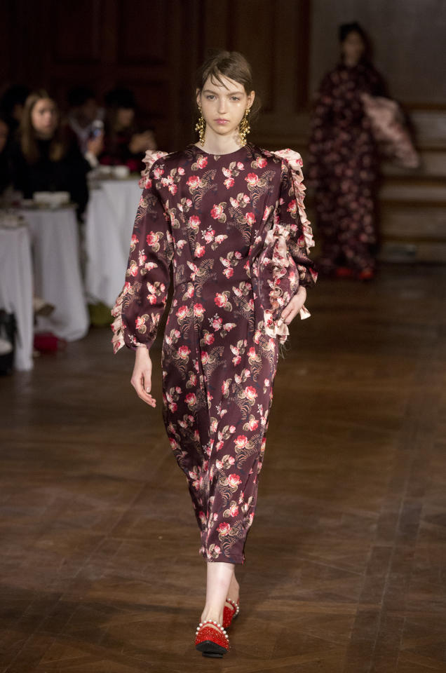 <p>Lazy fashion devotees, rejoice! Five-minute dressing is back for yet <em>another</em> season. And pyjamas have never looked more chic… <em>[Photo: PA]</em> </p>