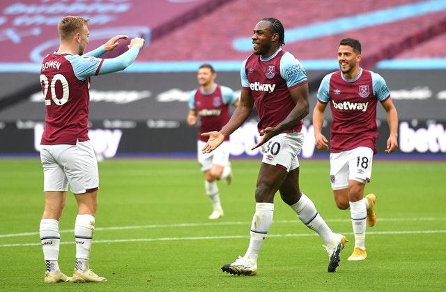 West Ham drew with Manchester City last weekend but will be without goalscorer Michail Antonio at Liverpool.