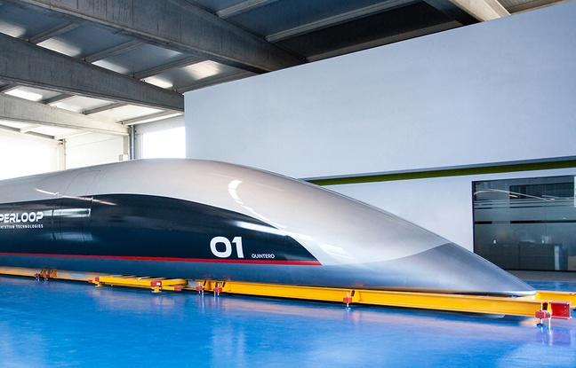 Hyperloop Transportation Technologies dévoile sa capsule passagers à taille réelle — Quintero One