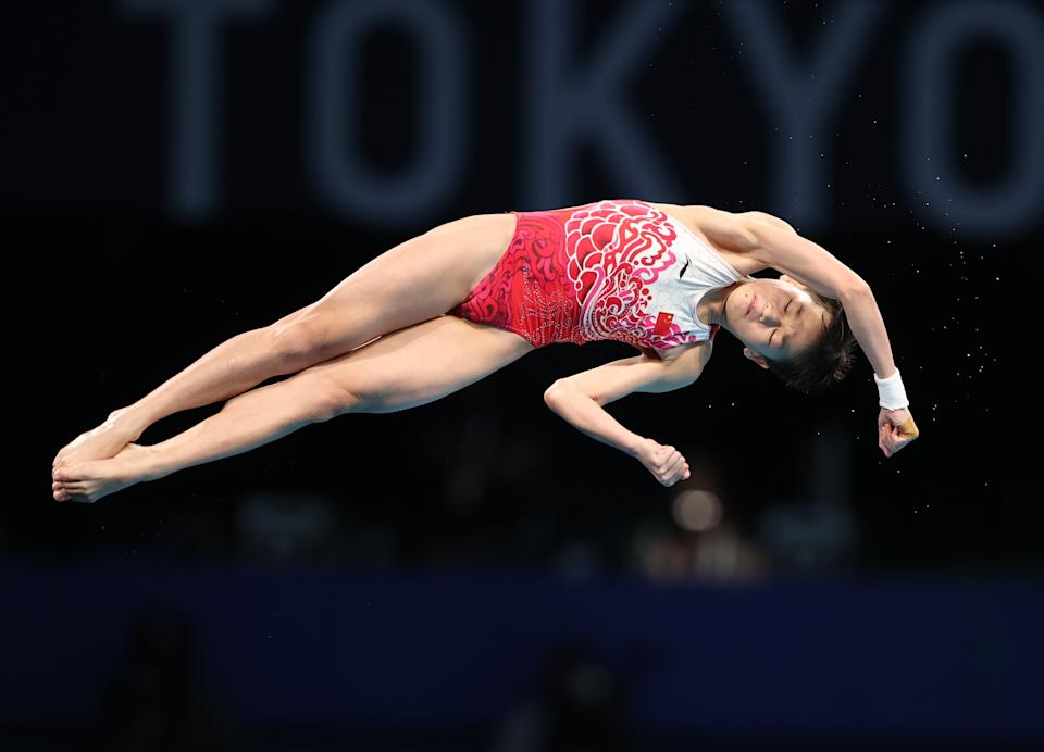 Now a gold medalist and record holder, Quan would have been too young to qualify if the Tokyo Games were held last summer. (Reuters/Molly Darlington)