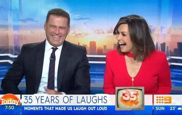 It was the first day of the new show after Lisa Wilkinson's shock exit. Source: Channel 9