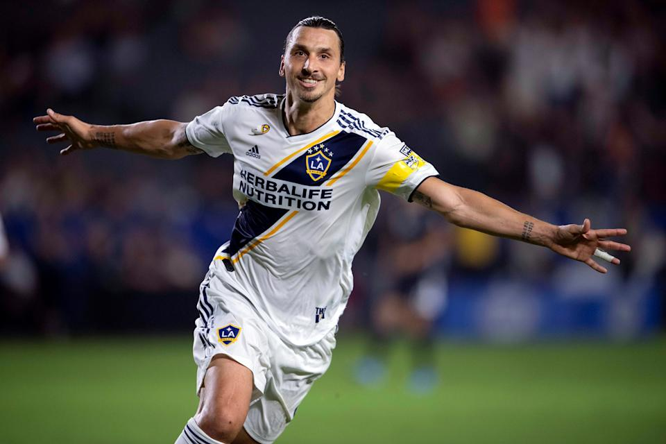 Zlatan Ibrahimovic will continue his career in Serie A with AC Milan. (Kelvin Kuo-USA TODAY Sports)