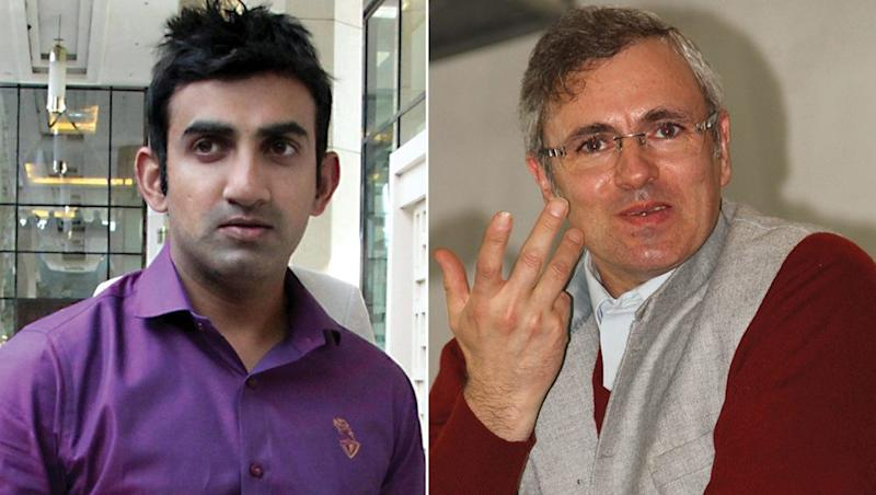 Gautam Gambhir, Omar Abdullah Engage In Twitter Spat Over Jammu And Kashmir; From 'Go To Pakistan' To 'Talk About IPL', Here's What The Two Tweeted
