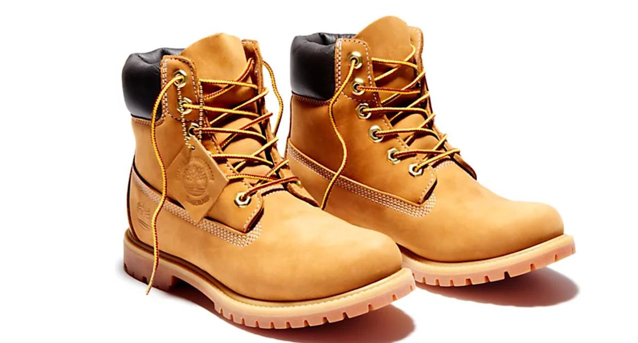 Timberland's 6 inch boots for women