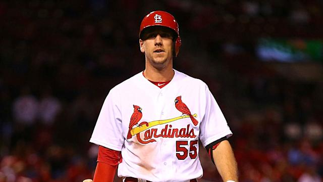 One day after Piscotty was hit in the head by a thrown ball, he said he was cleared by the medical staff and will be ready to play.