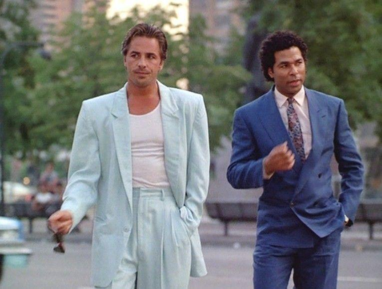 """<p>Get ready to solve some crimes in this classic <em>Miami Vice</em> getup. If you're looking to do this costume on the cheaper side though, check your local thrift store for some authentically '80s suits. Don't forget the shoulder pads.</p><p><a class=""""link rapid-noclick-resp"""" href=""""https://www.amazon.com/LOOK-UGLY-TODAY-Bachelor-X-Large/dp/B01M8FNNAW?tag=syn-yahoo-20&ascsubtag=%5Bartid%7C10070.g.22646261%5Bsrc%7Cyahoo-us"""" rel=""""nofollow noopener"""" target=""""_blank"""" data-ylk=""""slk:SHOP '80s SUITS"""">SHOP '80s SUITS</a> </p>"""
