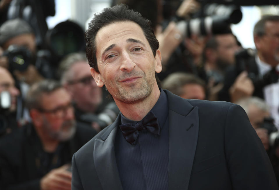 Actor Adrien Brody poses for photographers upon arrival at the premiere of the film 'Once Upon a Time in Hollywood' at the 72nd international film festival, Cannes, southern France, Tuesday, May 21, 2019. (Photo by Joel C Ryan/Invision/AP)