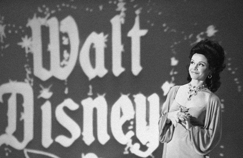 "FILE - In this Jan. 3, 1978 file photo, actress Annette Funicello recalls moments when she played a ""Mouseketeer"" on ABC's first successful daytime television show,""The Mickey Mouse Club"" in Los Angeles, while she was taping an ABC Silver Anniversary Celebration special. Walt Disney Co. says, Monday, April 8, 2013, that Funicello, also known for her beach movies with Frankie Avalon, has died at age 70. (AP Photo/Lennox McLendon, File)"