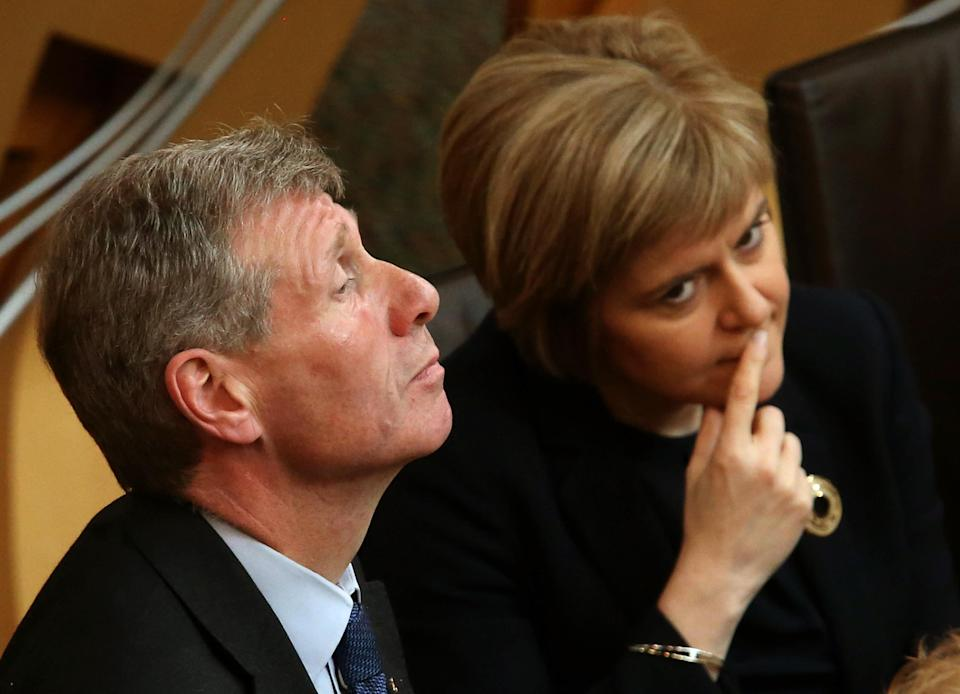 Former Scottish justice secretary Kenny MacAskill is one of two MPs to leave the SNP for the Alba Party (Andrew Milligan/PA)