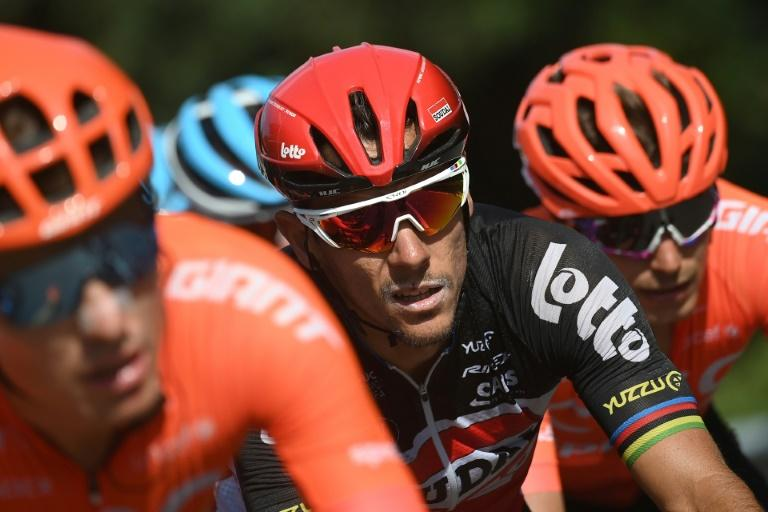 Lotto's Gilbert out of Tour with knee fracture