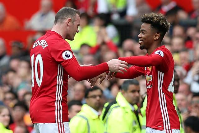 Angel Gomes made his Manchester United debut against Crystal Palace aged 16 (Martin Rickett/PA)